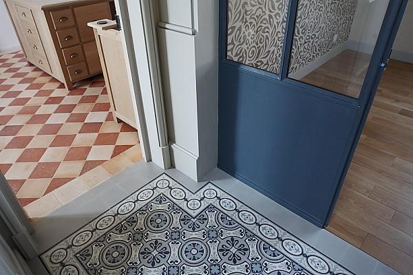 carreaux de ciment entree free carreaux de ciment with carreaux de ciment entree good grs. Black Bedroom Furniture Sets. Home Design Ideas