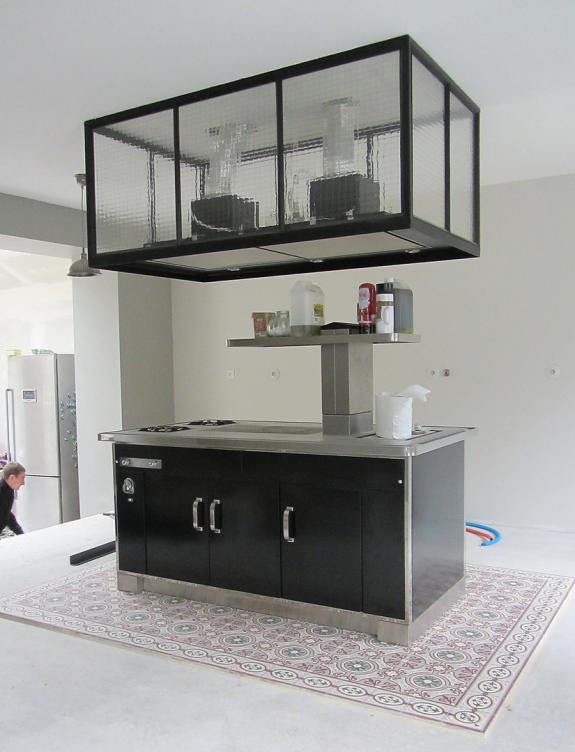 Oise r novation r alisations ii - Habillage hotte de cuisine ...